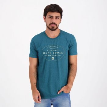 Camiseta Hang Loose Silk Bay Verde Mescla