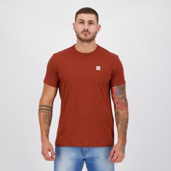 Camiseta Hang Loose Silk Clean Marrom Mescla