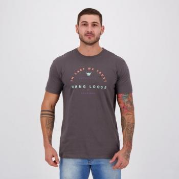 Camiseta Hang Loose Silk Colors Chumbo
