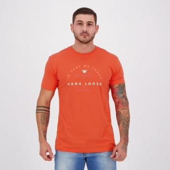 Camiseta Hang Loose Silk Colors Laranja