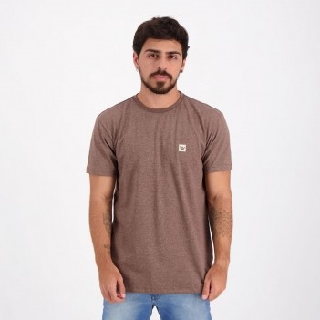 Camiseta Hang Loose Silk Company Marrom Mescla