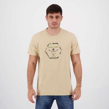 Camiseta Hang Loose Silk Deep Bege