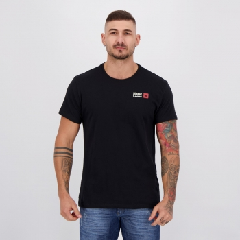 Camiseta Hang Loose Silk Glassy Preta