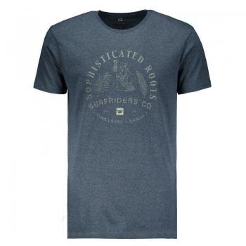 Camiseta Hang Loose Silk Kauai Marinho Mescla