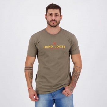 Camiseta Hang Loose Silk Let It Go Verde