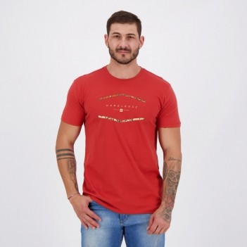 Camiseta Hang Loose Silk Trio Vermelha