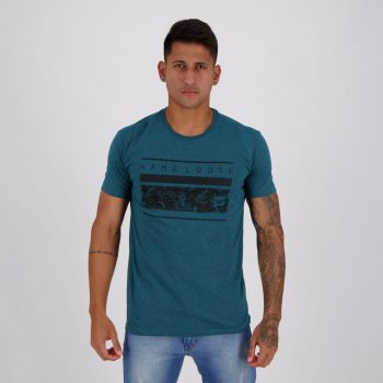 Camiseta Hang Loose Silk Volcano Verde