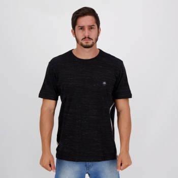 Camiseta HD Basic Kilt Preta Mescla