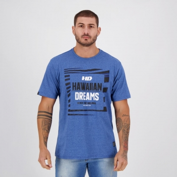 Camiseta HD Fantasy Out Azul Mescla