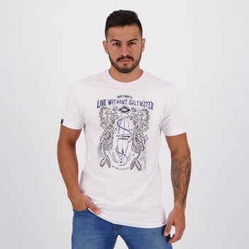 Camiseta HD Mermaids Hell Branca