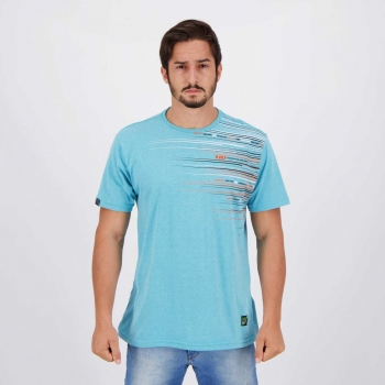 Camiseta HD Mind The Edge Azul Mescla