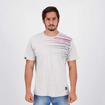 Camiseta HD Mind The Edge Cinza Mescla