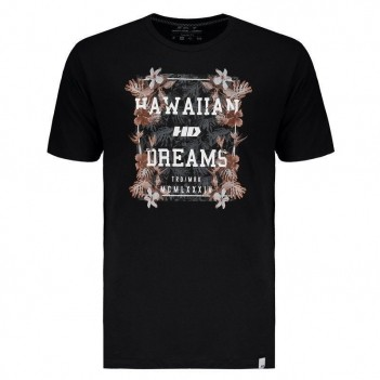 Camiseta HD Night Aloha Preta