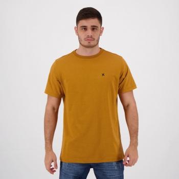 Camiseta Hurley Mini Icon Marrom