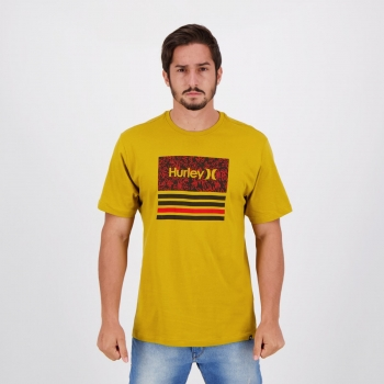 Camiseta Hurley Silk Boardlines Amarela