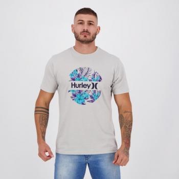 Camiseta Hurley Silk Crush Cinza