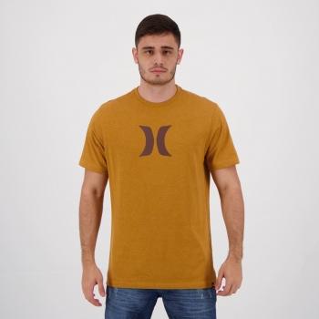 Camiseta Hurley Silk Icon Marrom