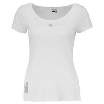 Camiseta Kanxa Fly Cat Feminina Branca
