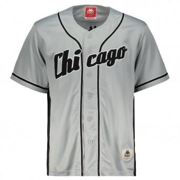 Camiseta Kappa Baseball Chicago 17 Cinza