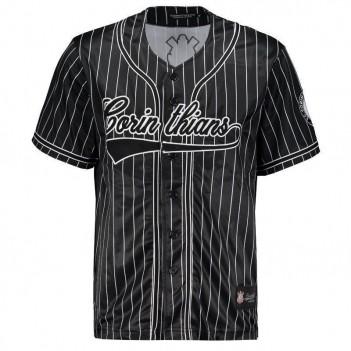 Camisa Corinthians Baseball Preta