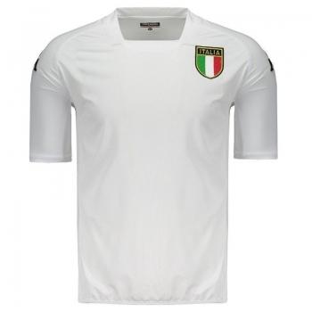 Camiseta Kappa Itália 2002 Kombat Branca