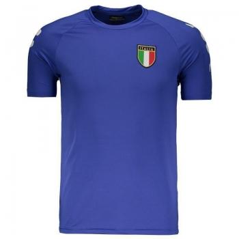 Camiseta Kappa Kombat Itália Basic Royal