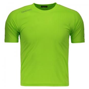 Camiseta Kappa Sallon Verde Juvenil