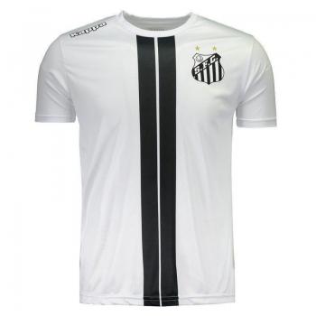 Camiseta Kappa Santos 2017 Dorval Branca
