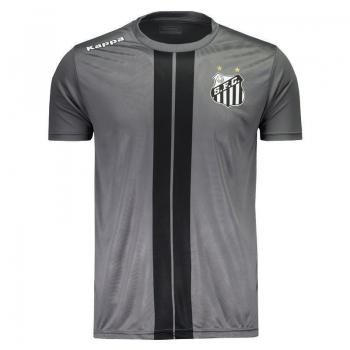 Camiseta Kappa Santos 2017 Dorval Cinza