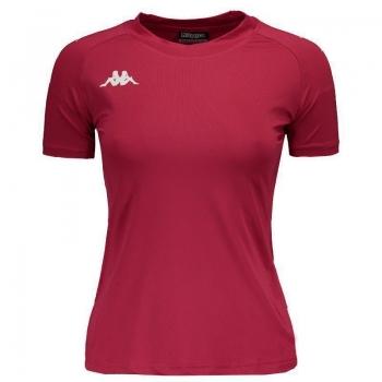 Camiseta Kappa Siana Feminina Vermelha
