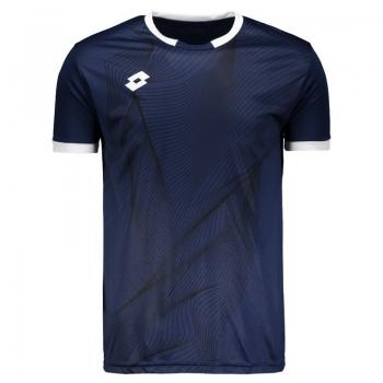 Camiseta Lotto Vibration Marinho