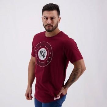 Camiseta Mitchell & Ness Baseball Circle Vinho