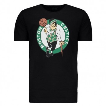 Camiseta Mitchell & Ness NBA Boston Celtics Preto