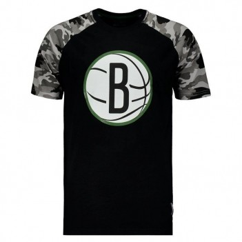 Camiseta NBA Brooklyn Nets Preta