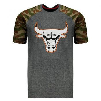 Camiseta NBA Chicago Bulls Grafite
