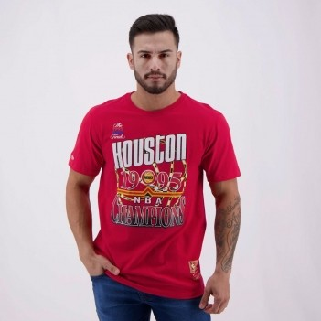 Camiseta Mitchell & Ness NBA Houston Rockets Check