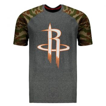 Camiseta Mitchell & Ness NBA Houston Rockets Grafite