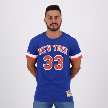Camiseta Mitchell & Ness NBA New York knicks 33 Ewing