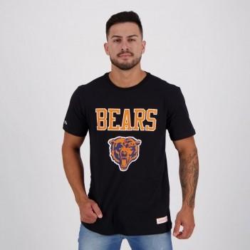Camiseta Mitchell & Ness NFL Chicago Bears Preta