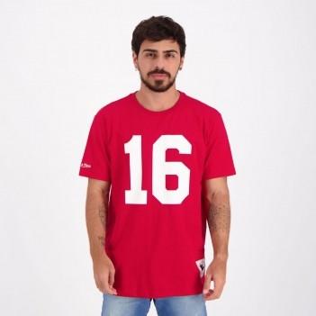 Camiseta Mitchell & Ness NFL San Francisco 49ers Vermelha