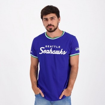 Camiseta Mitchell & Ness NFL Seattle Seahawks Azul