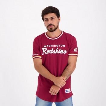 Camiseta Mitchell & Ness NFL Washington Redskins Vinho