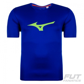 Camiseta Mizuno Crusader Run Azul