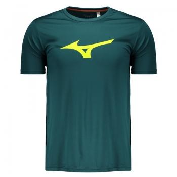 Camiseta Mizuno Run Spark Verde