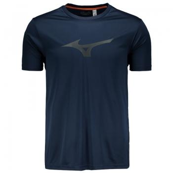 Camiseta Mizuno Run Spark Marinho