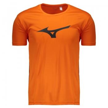 Camiseta Mizuno Run Spark Laranja