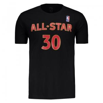 Camiseta NBA All Star 30 Curry Preta