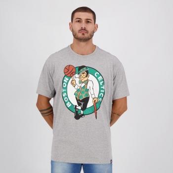 Camiseta NBA Boston Celtics Sportstyle Cinza Mescla