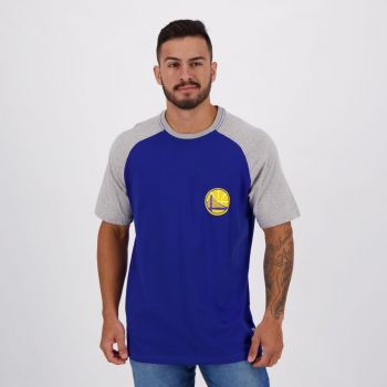 Camiseta NBA Golden State Warriors Azul e Cinza
