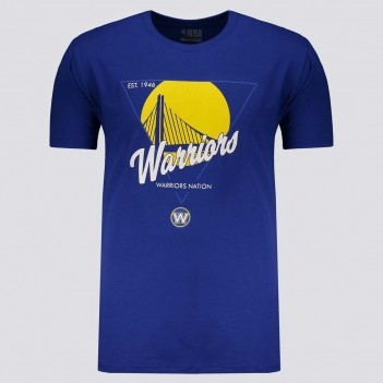 Camiseta NBA Golden State Warriors Symbol Azul